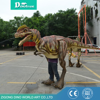 high quality waterproof material Halloween costumes inflatable walking dinosaur toy
