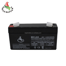 6V 1.2ah cheap solar battery power back ups inverter battery