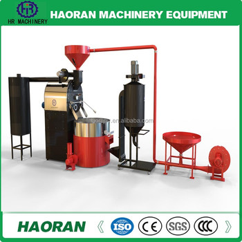 One year warranty of Coffee Roaster Machine 120 kg capacity