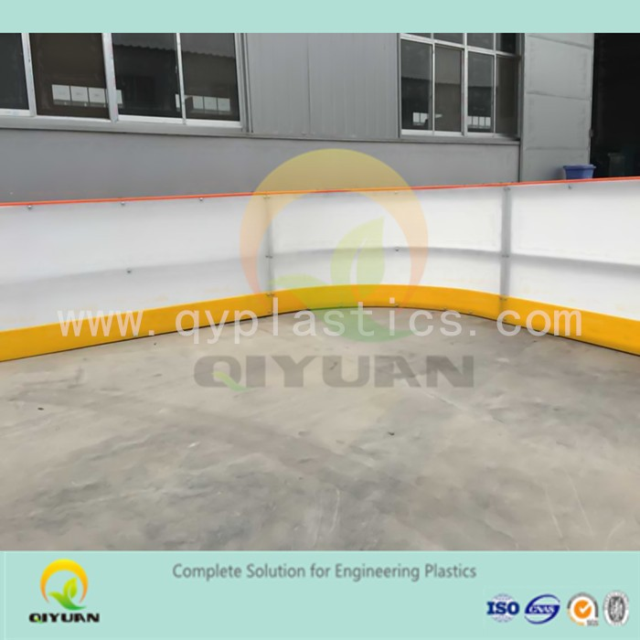 self- lubricating artificial ice block/ mobile roller skating rinks/ ice rink barrier