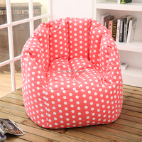 Pumpkin armchair recliner bean bag