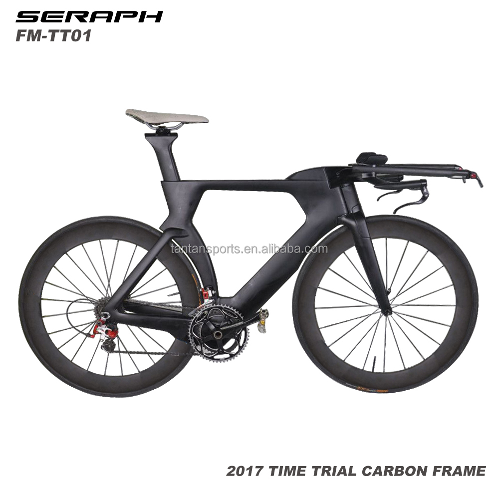 2017 carbon TT bike Full carbon time trial bicycle frame completed bike