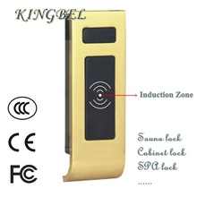 new arrival sauna door lock with alarm EM card suana cabinet lock
