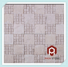 Arch Chinese marble wall/floor/garden 3D wall mosaic tile