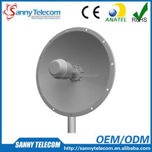 WiFi 2.4GHz 18dBi High Performance MIMO Dish Antenna, with Fiberglass Radome