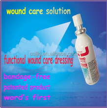 Anti-infection Spray Dressings for wound care and Contagious soft wart, acuteness wet wart
