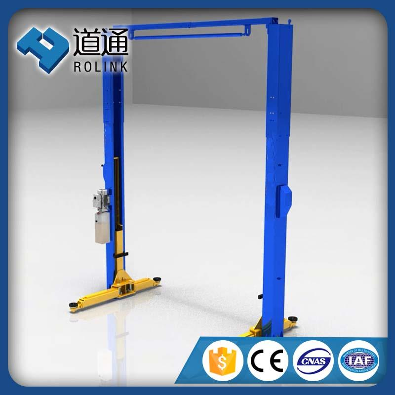 Scientific and economical 2 post hydraulic lift for car wash