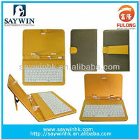 warm sale usb compressed skin case keyboard for 7 8 9 10 inches android tablet