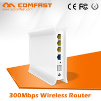 300Mbps Wifi Wireless Router COMFAST CF-WR600N, Alibaba Gold Supplier Wifi Adapter Advertisement Pushing Router