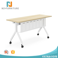 Modular White Office Design Folding Conference Table for Training Furniture