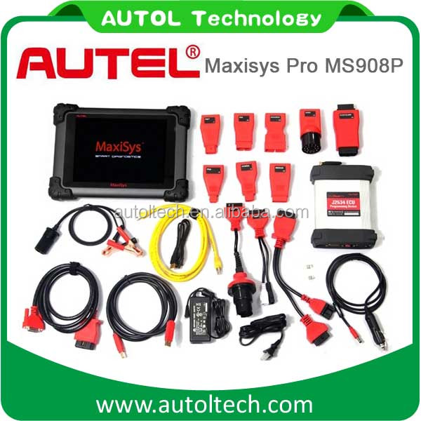 New Autel MaxiSys Pro MS908P OBD2 Scanner Ecu Coding More Functions Than MS906