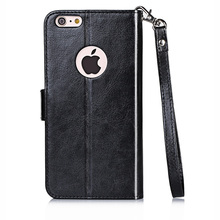 wholesale Custom Wallet Design PU+PC Cell Phone Case For iPhone 6/6s