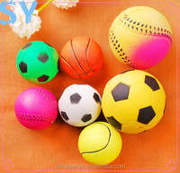 Solid color elastic ball pet toys dogs and cats pet toys imports from china