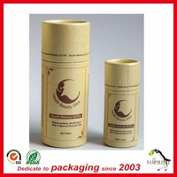 push up cylinder lip balm tube,deodorant paper tube container with lid,paper tube packaging