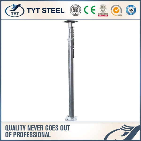 from 2.2 to 4.0m used steel prop wall support jack adjustable scaffolding steel props