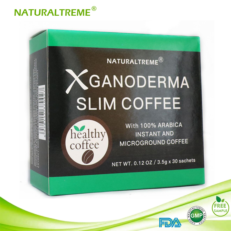 Ganoderma Slimming Suppressing Appetite Coffee with Guarana