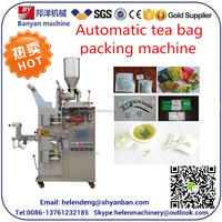 YB-180C Pouch,Bags,Pouch,Film,Foil Packaging Type and Electric Driven Type tea bag making packing machine