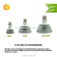 Plastic led grow lights 1000 w with CE certificate