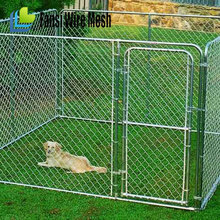 2015 high quality cheap galvanised double dog kennel china supplier
