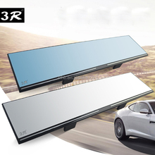 Clip on grandangolare vista anti-glare car van auto blind spot piatto auto retrovisore interno specchietto retrovisore