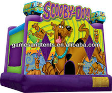 Scooby Doo! bouncy castle, inflatable jump A2074