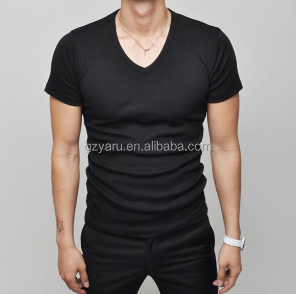 men's most comfortable t-shirt mens plain black t shirt men's o-neck t-shirts cotton v-neck