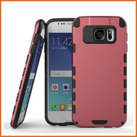 Factory pc tpu slim armor case for samsung galaxy s6 cover