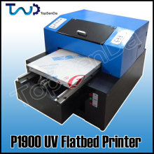 Digital UV Flatbed leather embossing printing machine