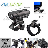 120 lumen Rechargeable Mountain, Road Bike Headlight,The BEST Rechargeable Bike Light on Alibaba For the Price.
