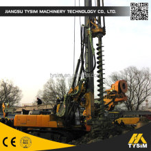 small piling rigs CFA KR80M, rotary drilling rig machinery, borehole drilling rig tool, max diameter 600mm