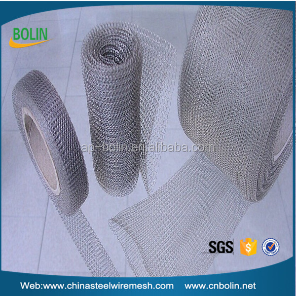 BOLIN 0.15mm SS430 knitted wire mesh for industry use