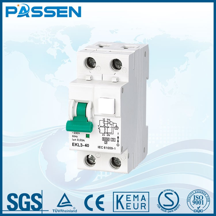 PASSEN China manufacturing new type ce approved auto reset circuit breaker