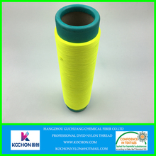 Super soft wonderful color high stretch nylon 6 yarn for textile and sewing