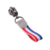 The French flag decoration rope zipper puller