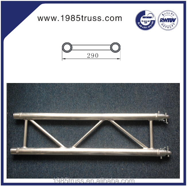 290mm aluminum stage truss,outdoor roof truss