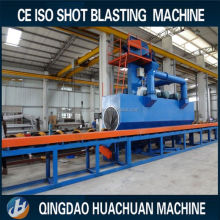 Roller shot blasting machine for lpg/cnc/gas cylinder