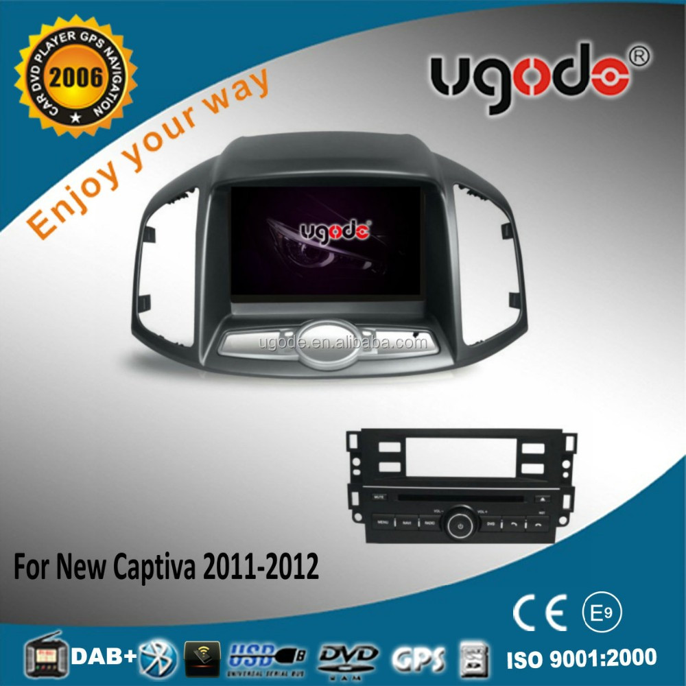 High quality HD 8 inch android car dvd player for Chevrolet Captiva 2012