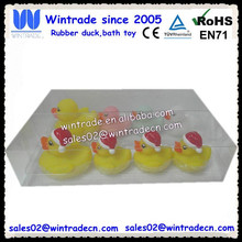 Swimming duck set/bath floating toy set