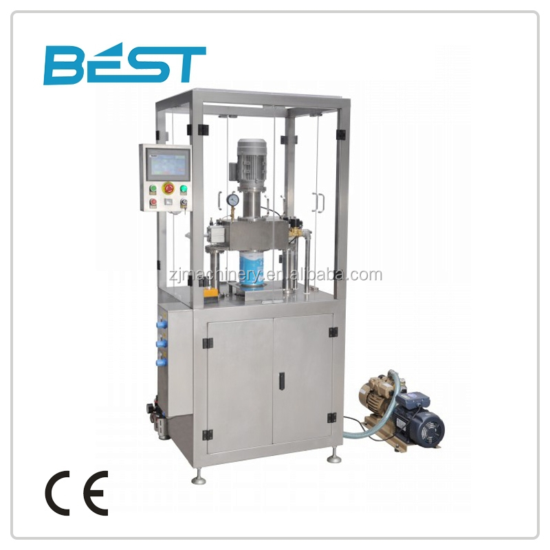 FGZK-B 800 (L) * 700 (W) * 1850 (H) mm Automatic angelus tin can sealing machine/seamer