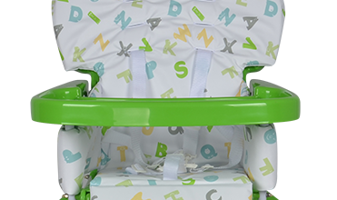 Lovely EN14988 Certificate Toddler Travel High Chair