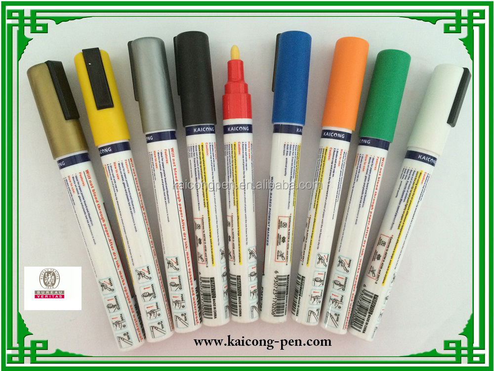 Hot sell in 2018 water-based pigment medium point tip iPOSCA paint marker uni paint marker