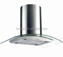 RIH04 stainless steel island hood best selling products kitchen exhaust range hood prices