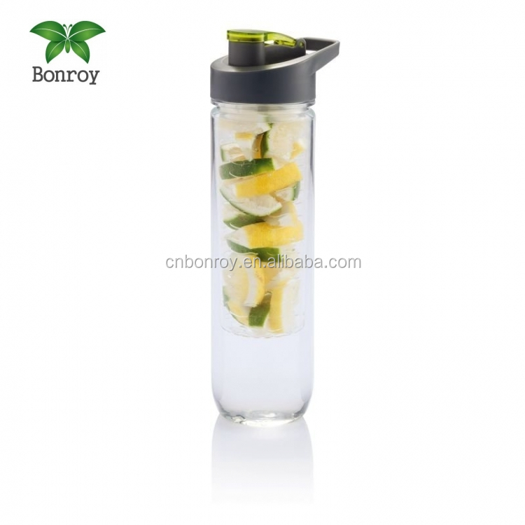 Fruit Tea Infusing Infuser Water Bottle Sport Infusion Lemon Juice Make Bottle