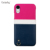 IMD Marble Anti-Scratch Shock Absorption Print Slim-Fit Matte TPU Gel Phone Cover Case for Apple iPhone Xs/Xs Max/XR