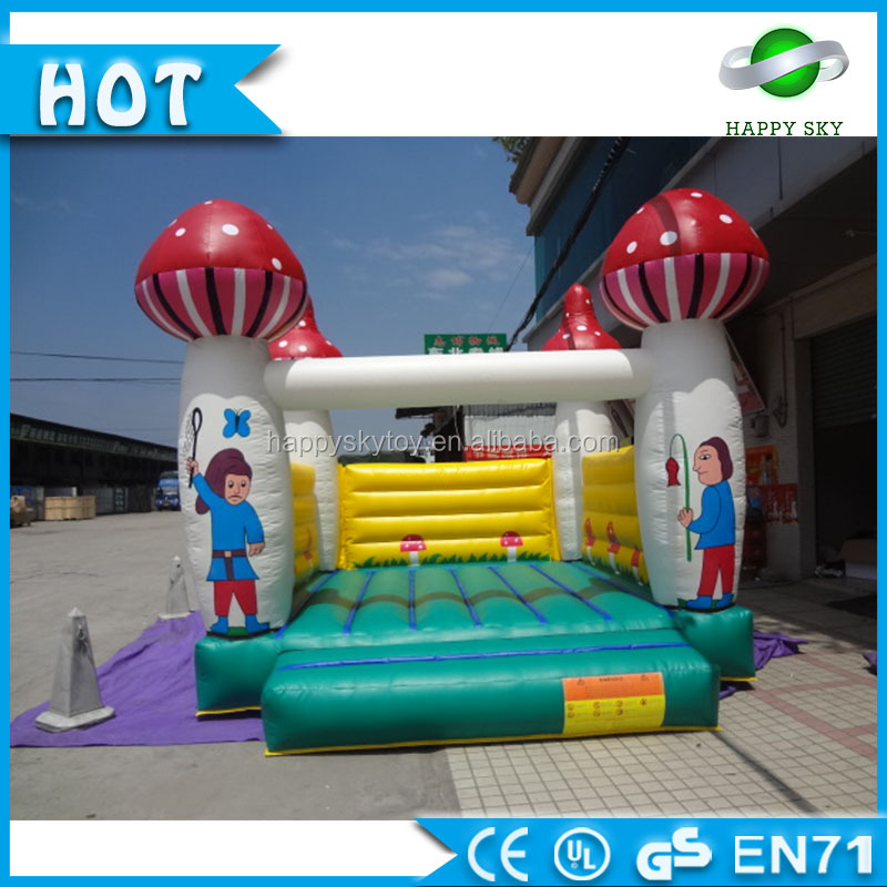 Top Sale 3m,4m,5m 0.55mm PVC giant inflatable jumping castle, air bouncer inflatable trampoline for sale, RO,UA like it