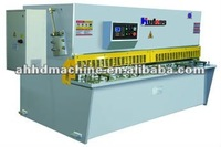 QC12Y hydraulic sheet metal cutting machine