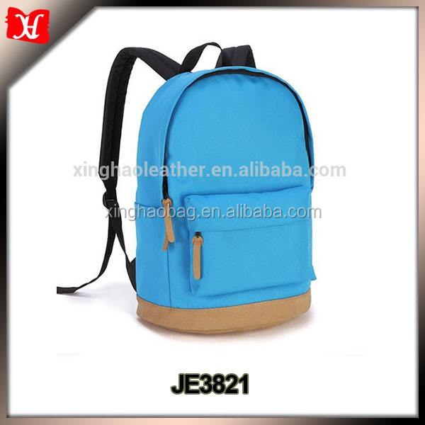 New design colorful colleague students fashionable girls backpack school bag