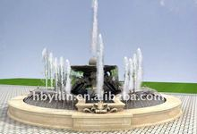 Large marble urban fountain sculptures