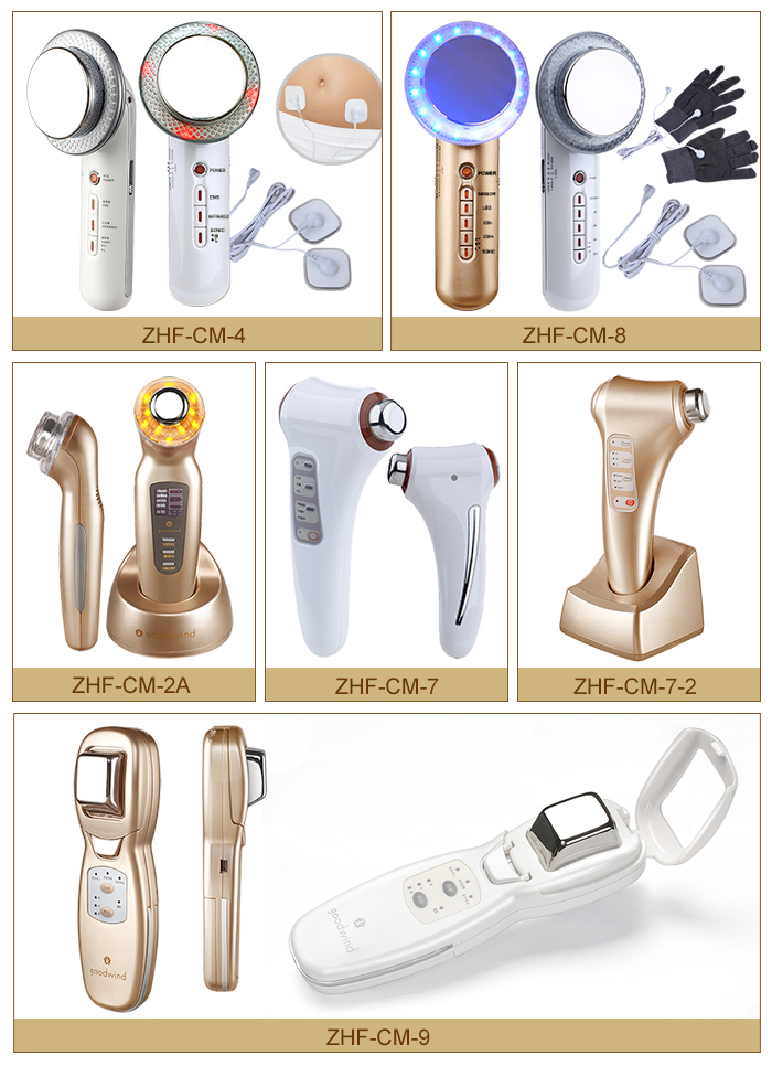 china supplier hifu beauty machine ultrasound electromagnetic wave pulse foot massager
