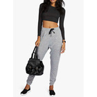 Women's Knitted grey loose Jogger sports long pant